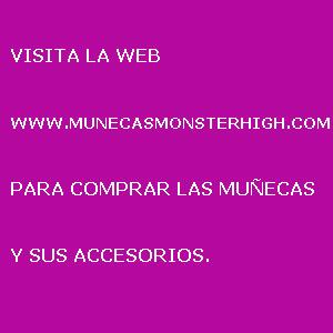 Colección Monster High de María