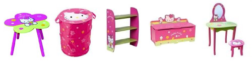 Muebles y decoración Hello Kitty