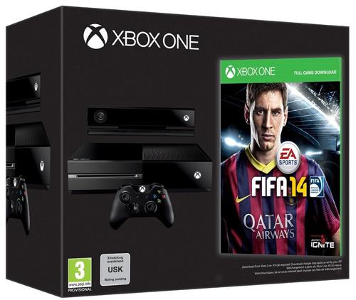 Reservar - Comprar la Xbox One con el Fifa 14