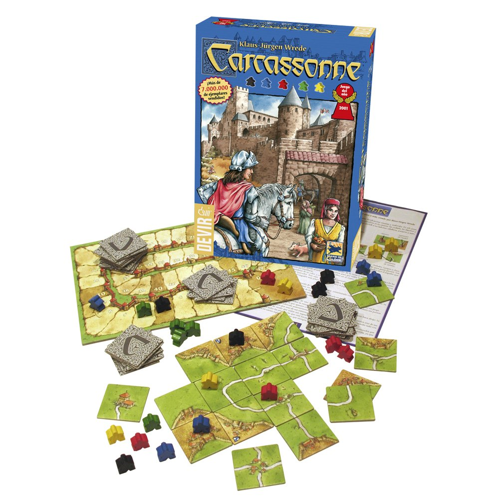 Comprar juego de Carcassonne
