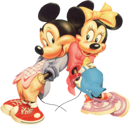Comprar peluches baratos de Mickey Mouse y Minnie Mouse