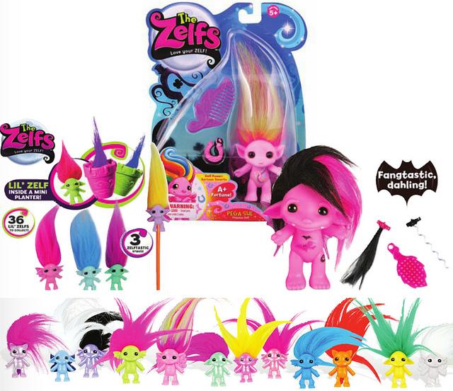 Comprar muñecos y juguetes de The Zelfs