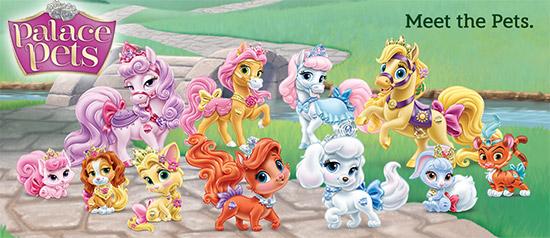 Mascotas de las princesas - Imagui