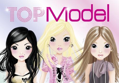 Catálogo de juguetes, material escolar de Top Models