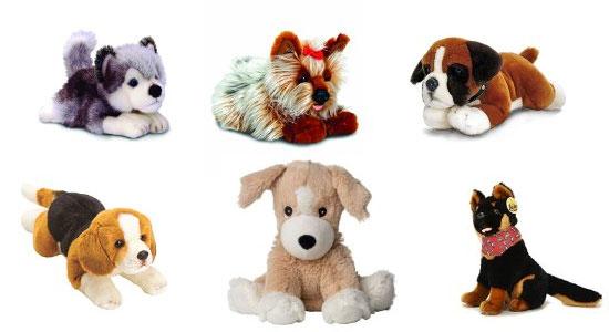 Catálogo para comprar online perros de peluche