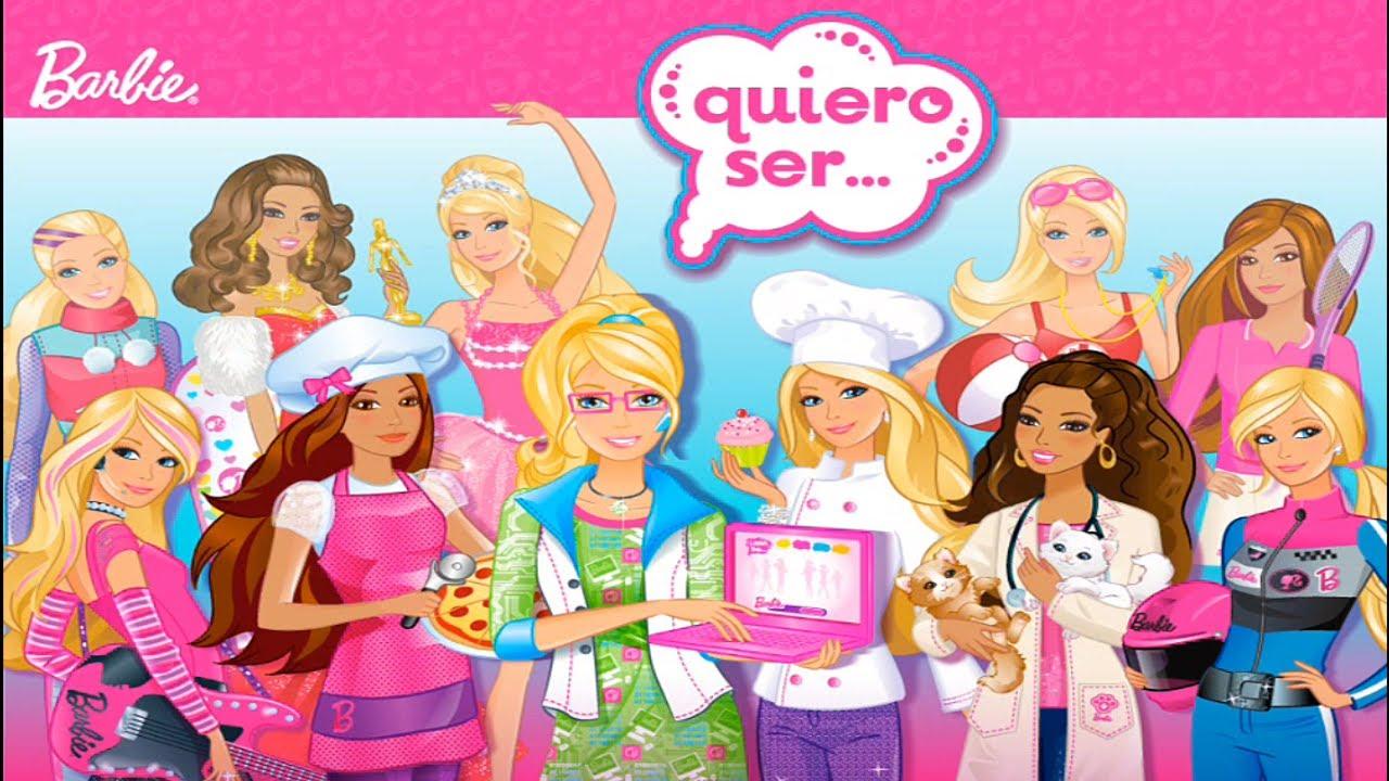 Comprar Barbie quiero ser