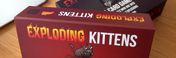 Comprar el juego de cartas Exploding Kittens
