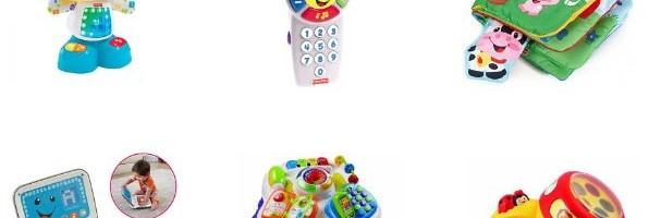 Juguetes con sonido para bebés