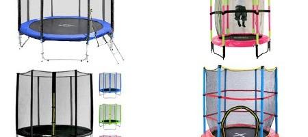 Camas elásticas y trampolines infantiles baratos