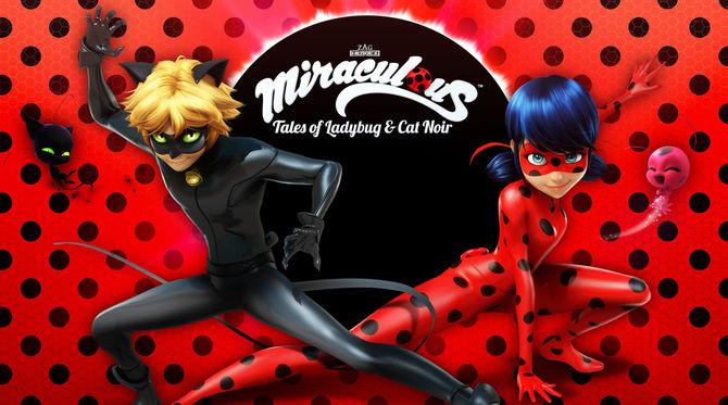 Mochilas y material escolar de Ladybug y Cat Noir