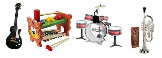 Instrumentos musicales para niños baratos