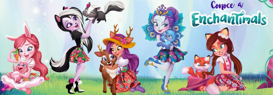 Comprar muñecas y animales de Enchantimals