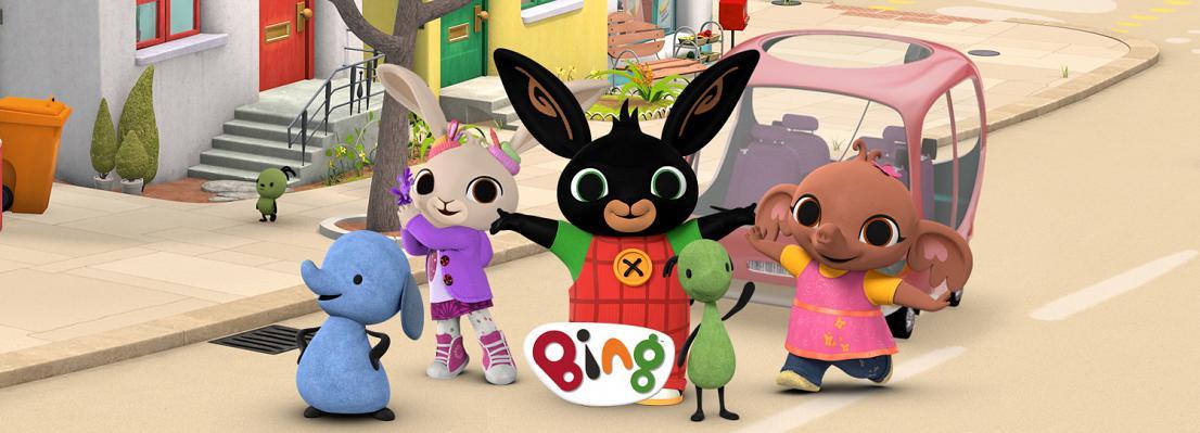 Juguetes de Bing el conejito