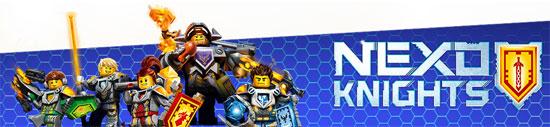 Juguetes de Lego Nexo Knights