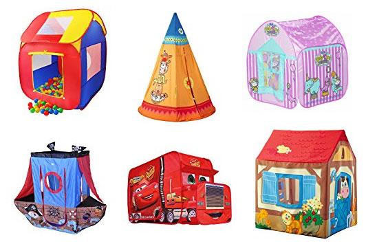 Tiendas de campaña infantiles