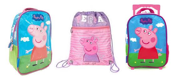 Comprar mochilas de Peppa Pig baratas
