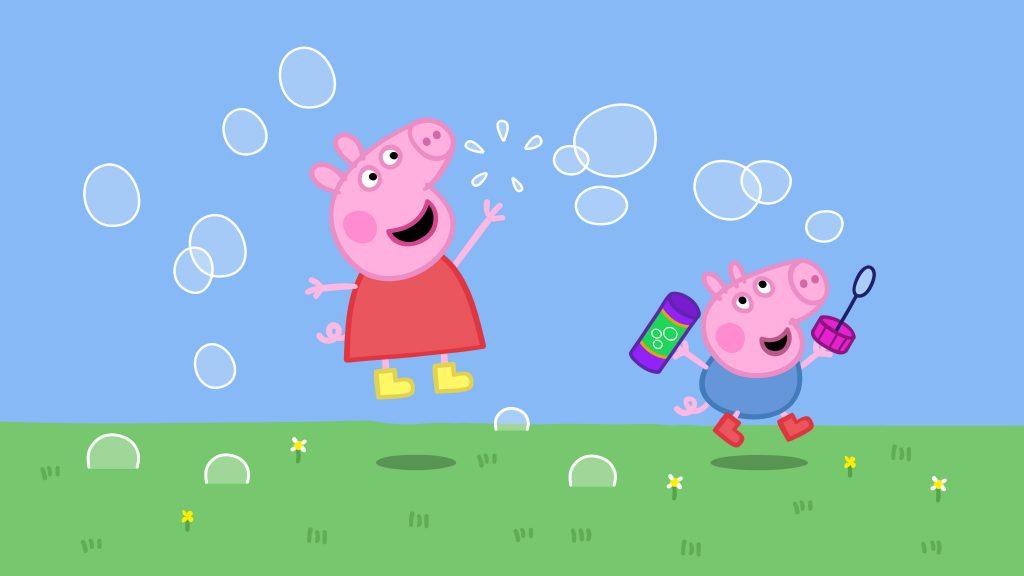 ▷ Juguetes y juegos de Peppa Pig【Autobús, colegio, casa ...