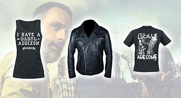 Merchandising: Ropa de The Walking Dead para comprar online