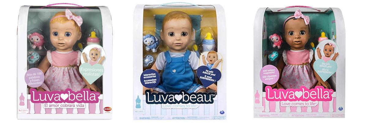 Muñecas Luvabella en español