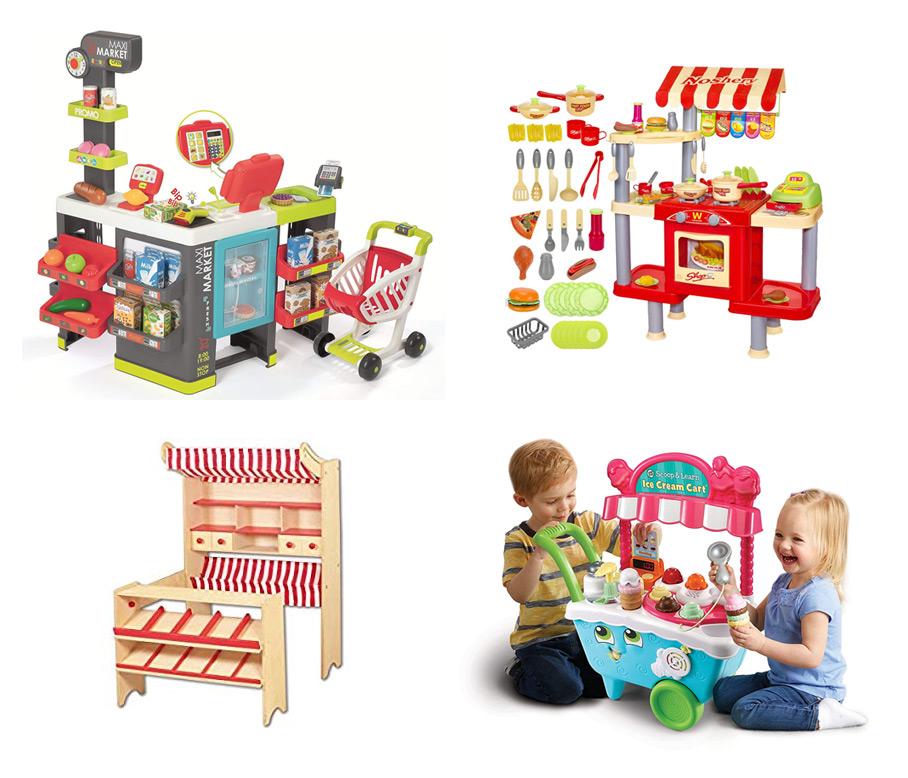 Comprar tiendas, restaurantes y supermercados de juguete