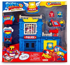 Estación de policía de los Superzings