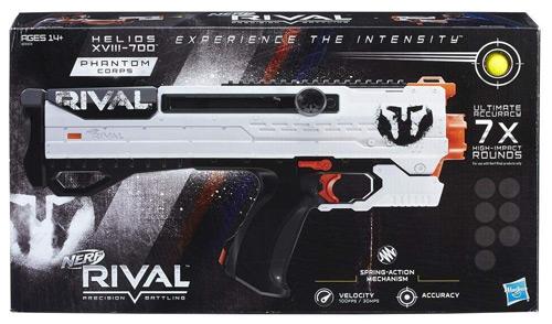 La Nerf más potente: Nerf Rival Helios