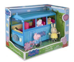 El autobús escolar de Peppa Pig