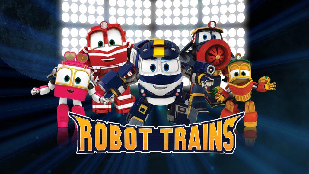Comprar juguetes de Robot Trains