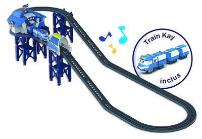 El Circuito Base, estación de tren de Kay.