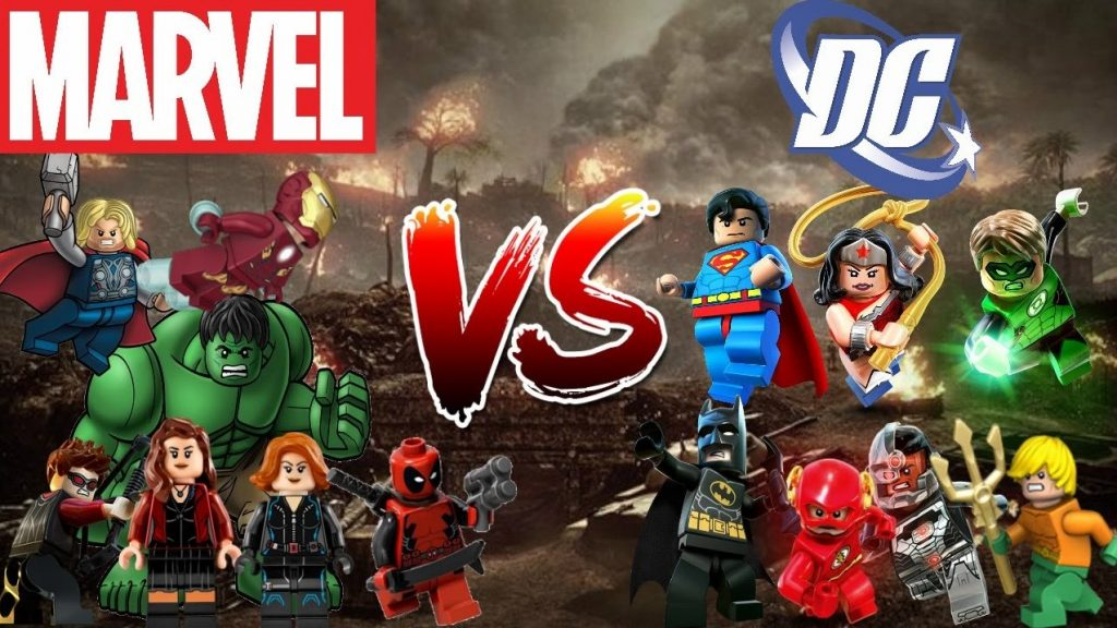 Lego Marvel y DC Comics Super Heroes